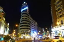 Madrid at night